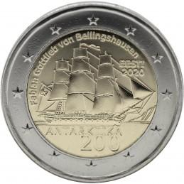 Estonia 2020 - 2 euro commemorativo 200° aniversario della scoperta di Antartide.