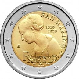 San Marino 2020 - 2 euro commemorativo 500° anniversario della morte di  Raffaello Sanzio