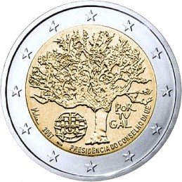 2 euro commemorativi singoli, dal 2004 ad oggi del Portogallo