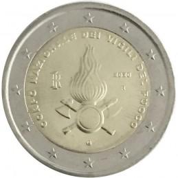 Italia 2020 - 2 euro commemorativo 80° anniversario della fondazione del Corpo Nazionale dei Vigili del Fuoco.