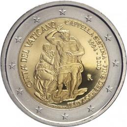 Vaticano 2019 - 2 euro commemorativo 25° anniversario del restauro della Cappella Sistina.