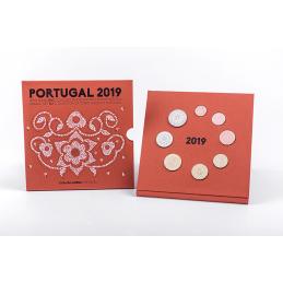 Portogallo 2019 - Divisionale ufficiale 8 valori