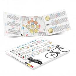 Belgio 2019 - Divisionale euro ufficiale 10 valori 2½€ - 2½€ - 2€ - 1€ - 50c. - 20c. - 10c. - 5c. - 2c.- 1c.