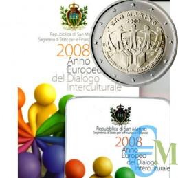 San Marino 2008 - 2 euro...