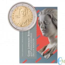 San Marino 2018 - 2 euro commemorativo 420° anniversario della nascita di Gian Lorenzo Bernini