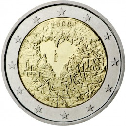 Finland 2008 - 2 euro commemorative 60th anniversary of the Universal Declaration of Human Rights