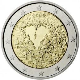 Finlandia 2008 - 2 euros conmemorativos del 60 aniversario de la Declaración Universal de Derechos Humanos