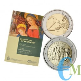 San Marino 2013 - 2 euro commemorativo 500° anniversario della scomparsa del Pinturicchio