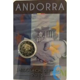 Andorra 2015 - 2 euro 25°...