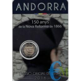 Andorra 2016 - 2 euro 150°...