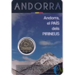 Andorra 2017 - 2 euro commemorativo paese dei Pirenei