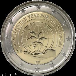 Belgio 2015 - 2 euro commemorativo anno europeo per lo sviluppo.
