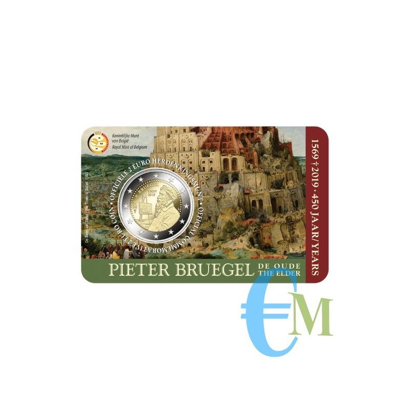 Belgio 2019 - 2 euro commemorativo 450° anniversario della morte di Pieter Bruegel il Vecchio. Olandese