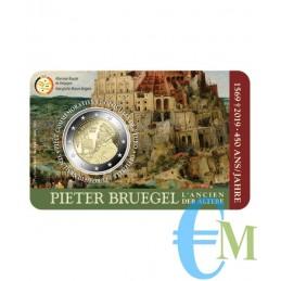 Belgio 2019 - 2 euro commemorativo 450° anniversario della morte di Pieter Bruegel il Vecchio. Francese
