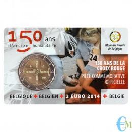 Belgio 2014 - 2 euro Croce...