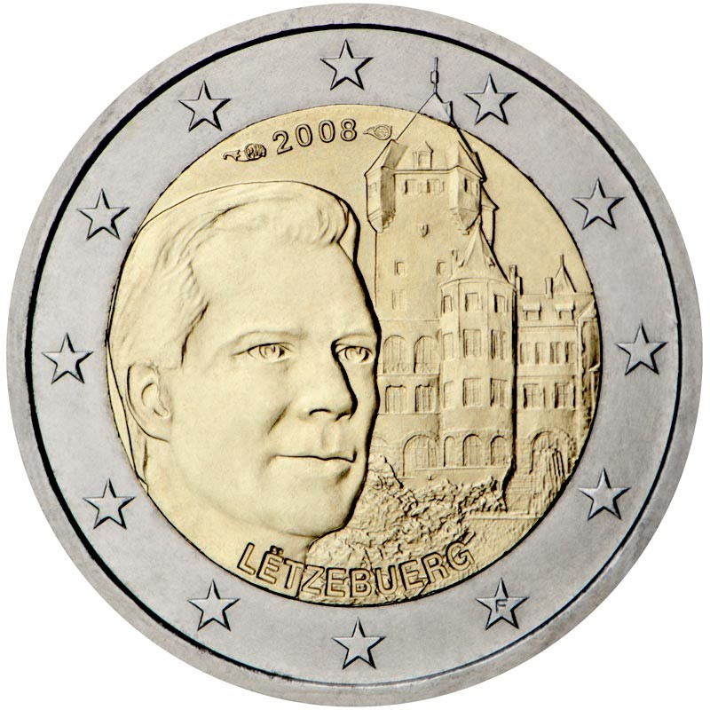 Lussemburgo 2008 - 2 euro commemorativo Castello di Berg