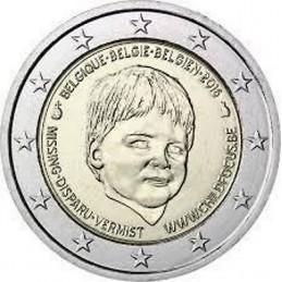 Belgio 2016 - 2 euro commemorativo giornata internazionale dei bambini scomparsi.