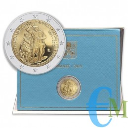 Vaticano 2019 - 2 euro 25°...