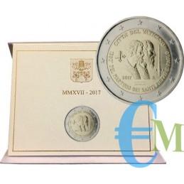 Vaticano 2017 - 2 euro commemorativo 1950° anniversario del martirio dei Santi Pietro e Paolo.