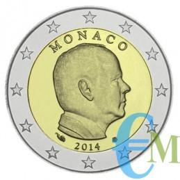 Monaco 2014 - 2 euro emesso per la circolazione