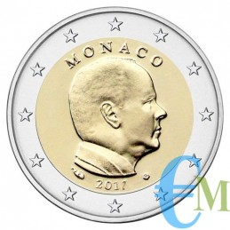 Monaco 2017 - 2 euro emesso per la circolazione