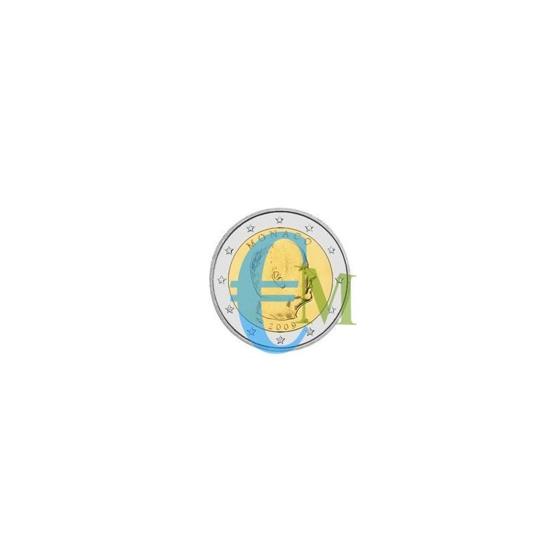 Monaco 2009 - 2 euro emesso per la circolazione