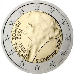 Slovenia 2008 - 2 euro 500° nascita Primož Trubar