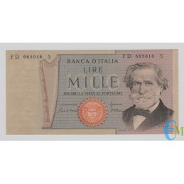 Italia - 1000 Lire Giuseppe Verdi 2° tipo 30.05.1981