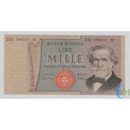 Italia - 1000 Lire Giuseppe Verdi 2° tipo 06.09.1980 SPL