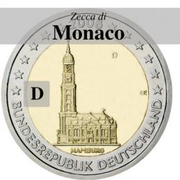 Germania 2008 - 2 euro...