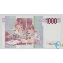 Italia - 1000 Lire Maria Montessori 25.07.1991