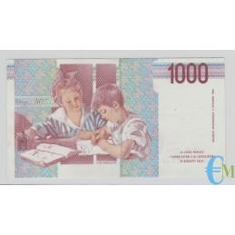 Italia - 1000 Lire Maria Montessori 18.12.1995