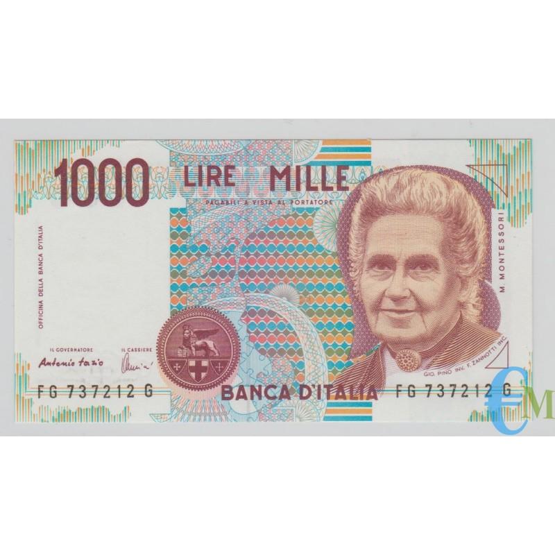 Italia - 1000 Lire Maria Montessori G 21.07.1998