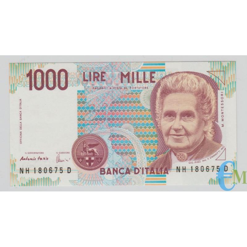 Italia - 1000 Lire Maria Montessori H 19.08.1998