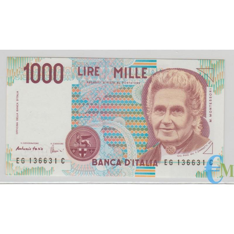 Italia - 1000 Lire Maria Montessori G 21.07.1998 RADAR
