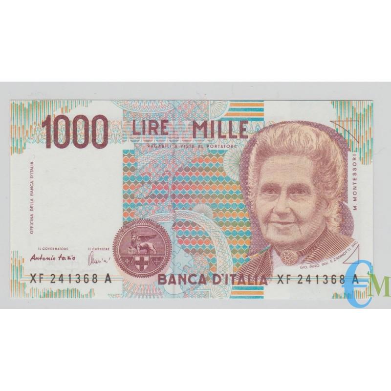 Italia - 1000 Lire Maria Montessori XF 05.01.1999