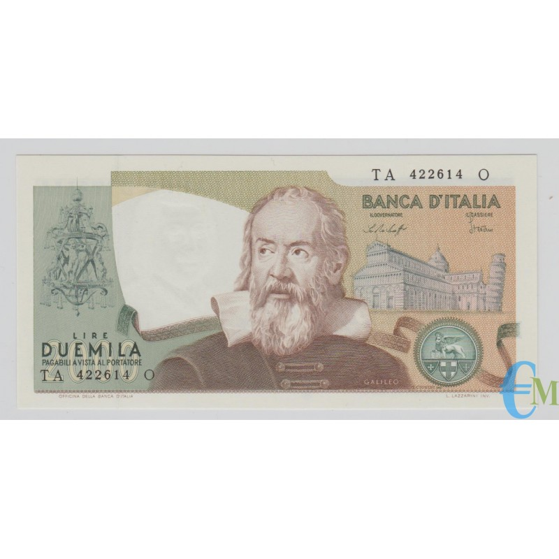 Italia - 2000 Lire Galileo Galilei 24.10.1983