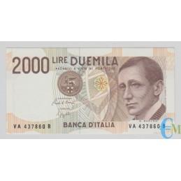 Italia - 2000 Lire Guglielmo Marconi 24.10.1990