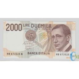 Italia - 2000 Lire Guglielmo Marconi 06.03.1992
