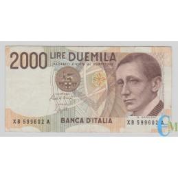Italia - 2000 Lire Guglielmo Marconi XB 25.07.2001