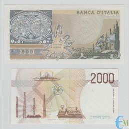Italia - Lotto 2000 Lire Galileo Galilei e 2000 Lire G. Marconi