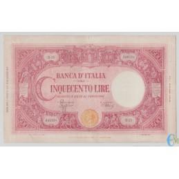 Italia - 500 Lire Barbetti Grande C 17.08.1944