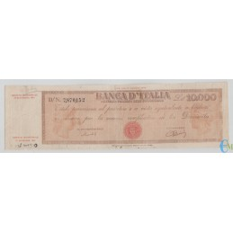 Italia - 10000 Lire Titolo provvisorio Medusa 06.09.1949