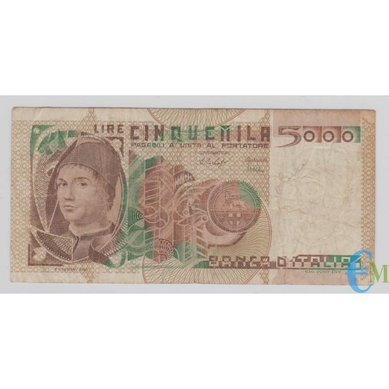 Italia - 5000 Lire Ritratto Antonello da Messina 09.03.1979