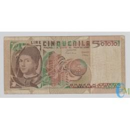 Italia - 5000 Lire Ritratto Antonello da Messina 03.11.1982