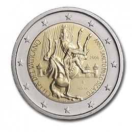 Vaticano 2008 - 2 euro commemorativo anno San Paolo