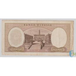 Italia - 10000 Lire Michelangelo 04.01.1968 rovescio