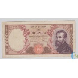 Italia - 10000 Lire Michelangelo 04.01.1968