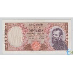 Italia - 10000 Lire Michelangelo 27.11.1973