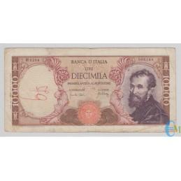 Italia - 10000 Lire Michelangelo 20.05.1966